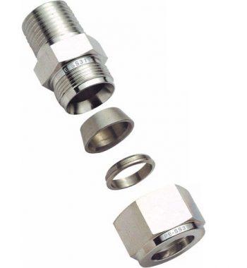 Titanium Twin Ferrule Fittings