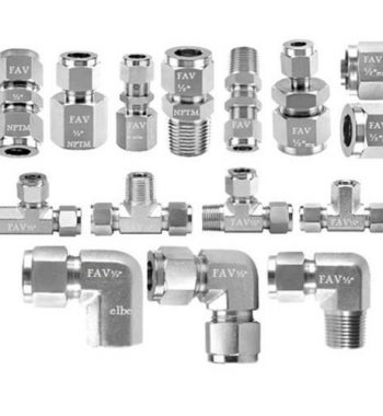 Titanium Double Ferrule Fittings