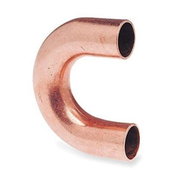 copper c bend