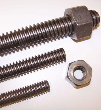 Carbon-steel-threaded-stud