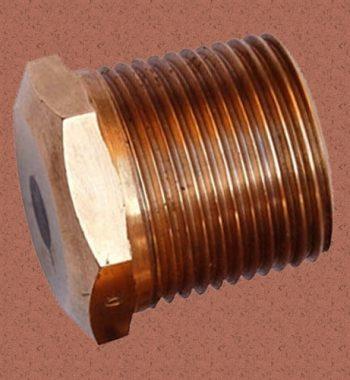 Copper Nickel Hex Plug